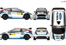 SGS Car Racing de Ford Fiesta R5 no Rali de Fafe com Nuno Madeira ao volante