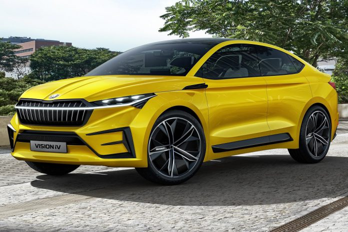 ŠKODA VISION iV eleito melhor carro Concept no BEST OF Mobility 2019