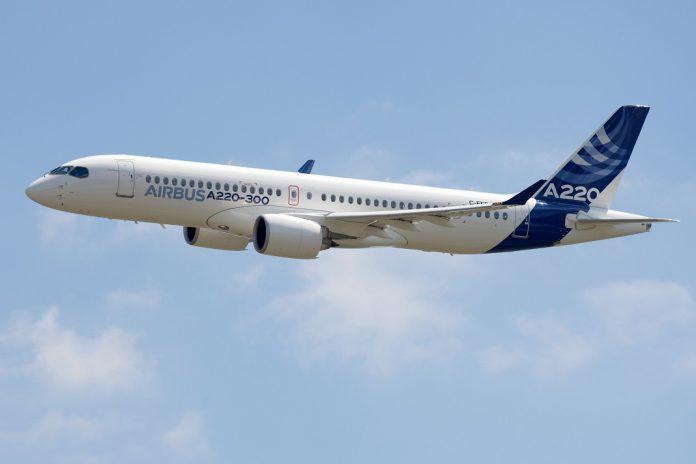"""Companhia aérea """"Moxy"""" de David Neeleman encomenda 60 aviões A220-300"""