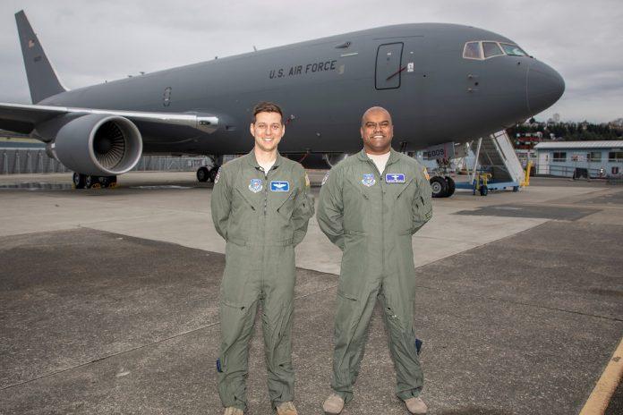 Força aérea dos EUA aceita primeiro Boeing KC-46A Pegasus