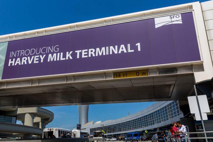 Terminal do Aeroporto Internacional de São Francisco recebe nome de líder LGBTQ+