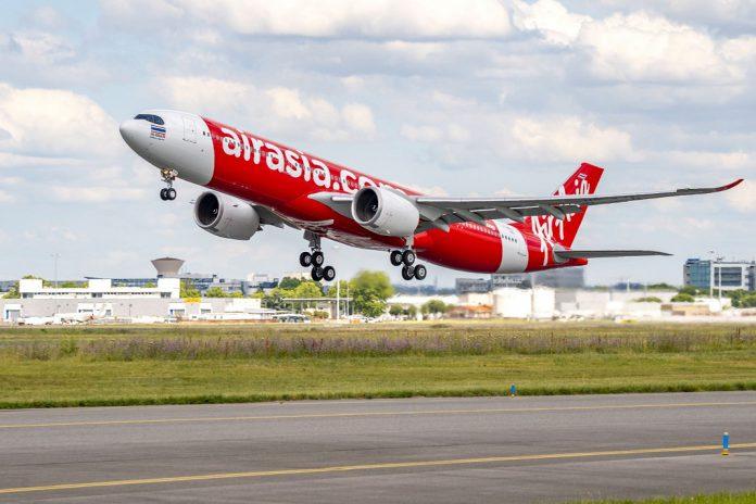 AirAsia recebe o primeiro avião A330neo