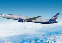 Boeing e Aeroflot anunciam contrato para intervir em 18 Boeing 777-300ERs