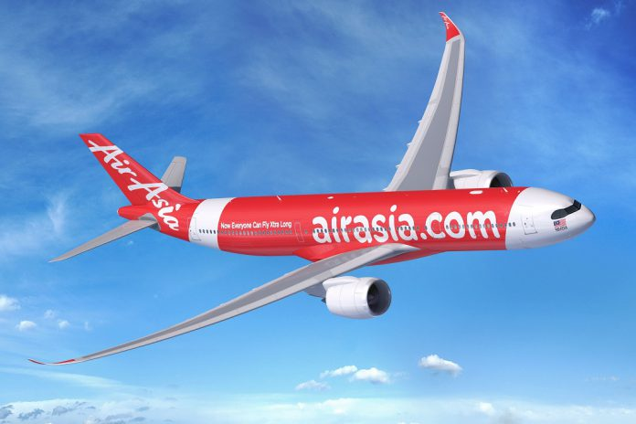 AirAsia X encomenda à Airbus mais 12 A330neo e 30 A321XLR