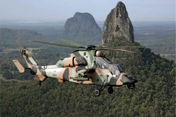 Helicópteros Tiger da Airbus podem ser uma opção económica para a Austrália
