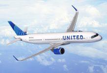 United Airlines encomenda 50 aviões Airbus A321XLR