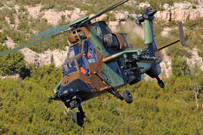Airbus Helicopters vai dar suporte global a helicópteros Tiger