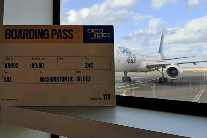 Cabo Verde Airlines inicia voos para Washington, D. C.