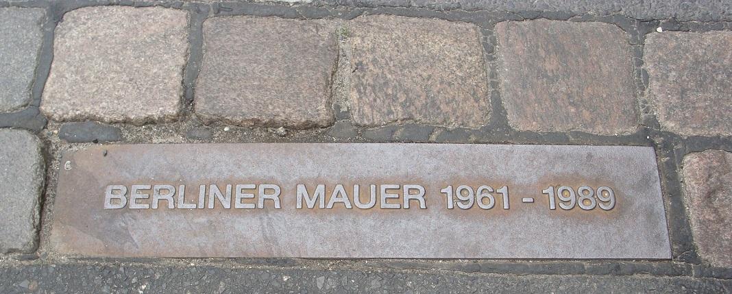 Queda do Muro de Berlim foi há 30 anos