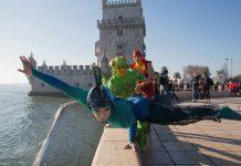 Insetos do OVO do Cirque du Soleil já invadiram Lisboa