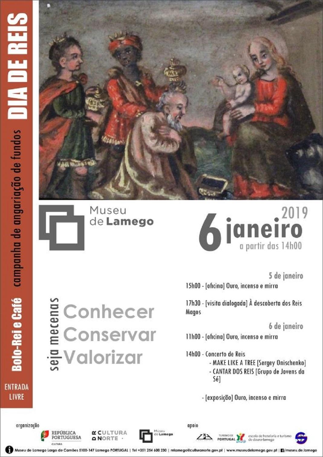 Dia de Reis, 6 de janeiro, no Museu de Lamego