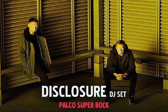 Disclosure DJ Set a 20 de julho no Palco Super Bock, no Meco