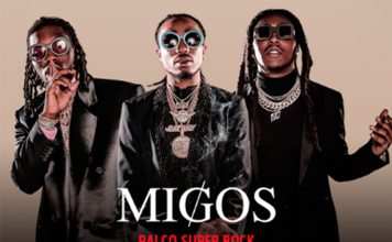 Migos no Super Bock Super Rock no dia 20 de julho