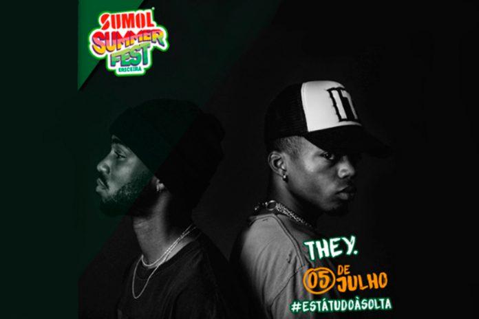 Sumol Summer Fest 2019 com THEY. a 5 de julho no Palco Sumol