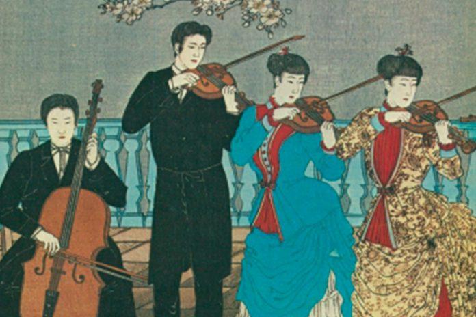 Concerto de Primavera no Museu do Oriente com 50 violinistas