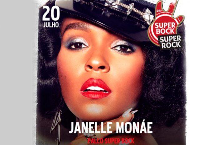 Janelle Monáe no Super Bock Super Rock a 20 de julho