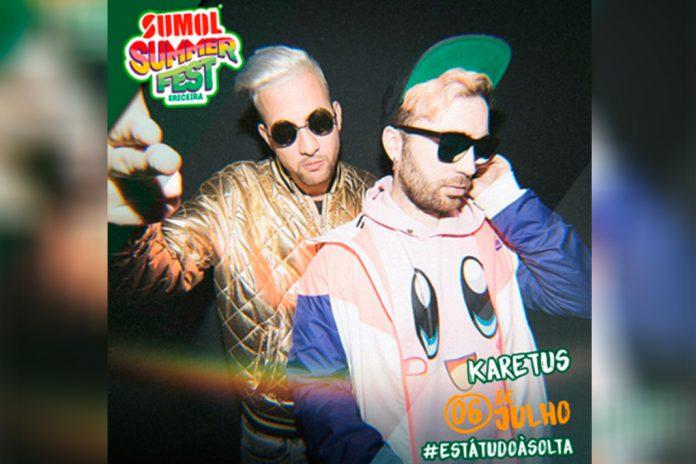 Karetus, no Sumol Summer Fest 2019