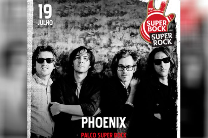 Phoenix no Super Bock Super Rock 2019