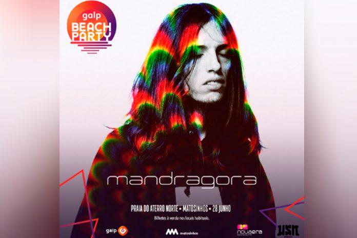 Mandragora na Galp Beach Party a 28 de junho