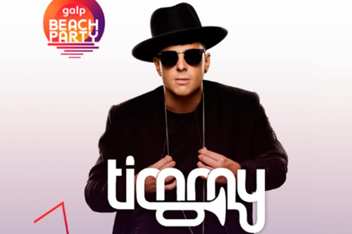 Timmy Trumpet na Galp Beach Party 2019
