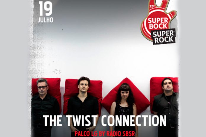 Twist Connection no Super Bock Super Rock a 19 de julho