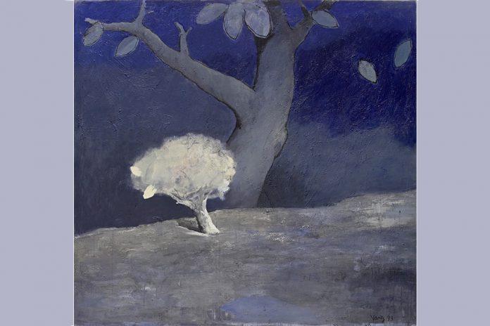 """""""Viagem através da pintura"""" pelo artista chinês Yang Din no Museu do Oriente"""
