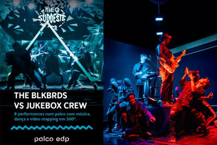The BLKBRDS vs Jukebox Crew no Palco EDP do MEO Sudoeste