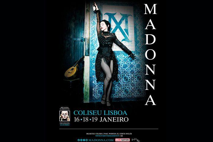 Bilhetes para Madonna no Coliseu de Lisboa já estão à venda