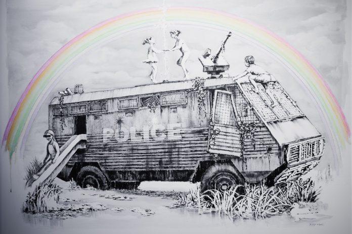 """Exposições """"Arte para Respirar"""" e """"Banksy: Genius or Vandal?"""" na Cordoaria Nacional"""