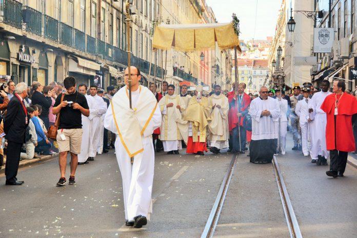 Procissão do Corpo de Deus em Lisboa