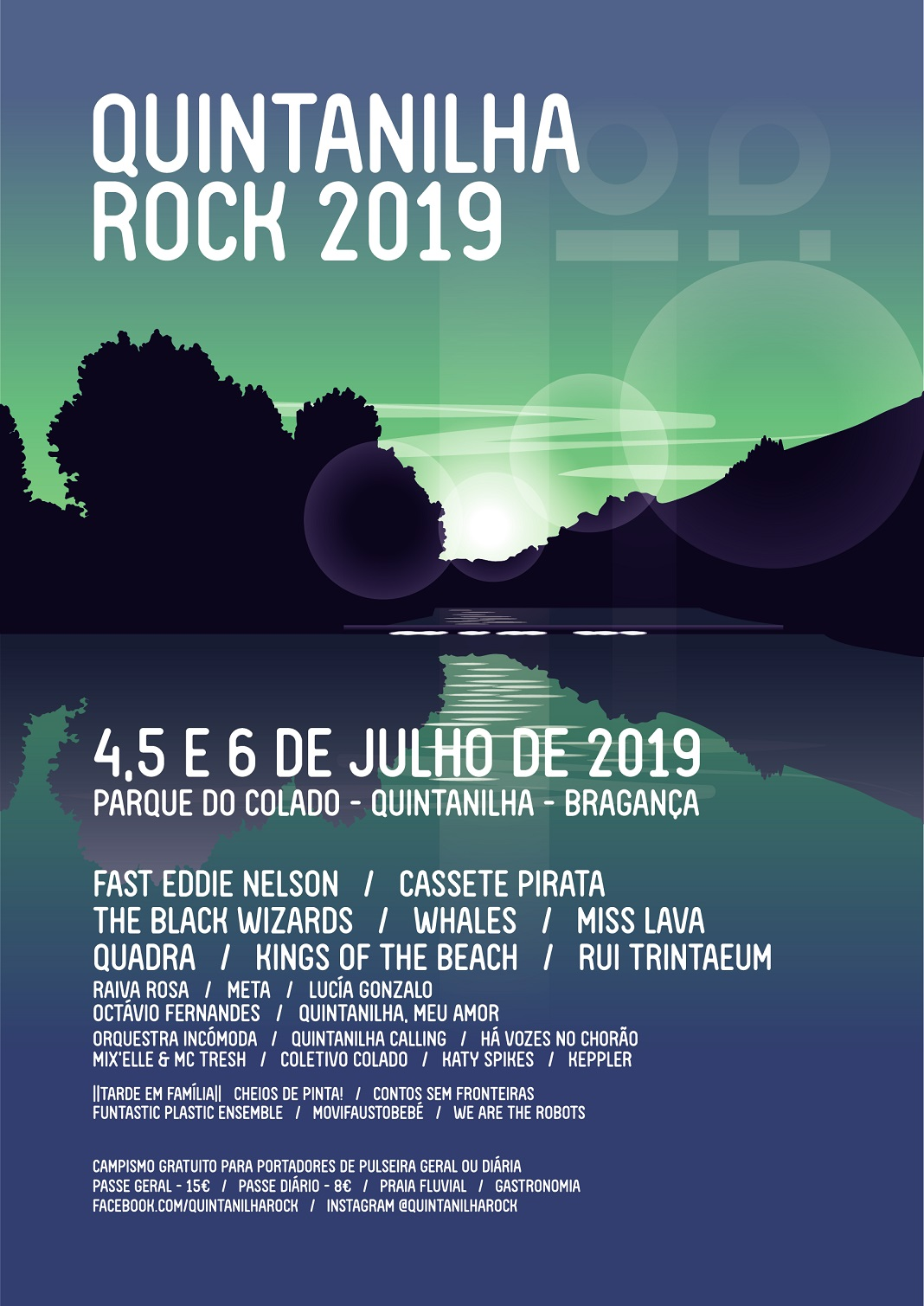 Quintanilha Rock 2019 no Parque do Colado
