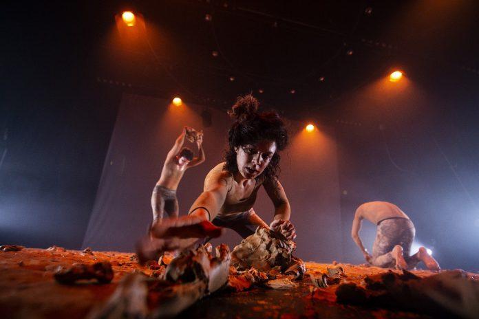 """Teatro da Didascália: """"Argila: no princípio era o Verbo"""" em S. João da Madeira"""