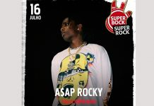 A$AP Rocky a 16 de julho no Palco Super Bock