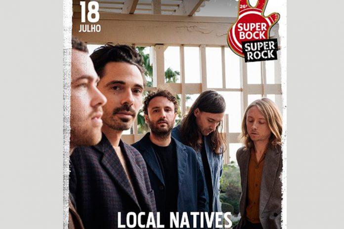 Local Natives a 18 de julho no Palco EDP do Super Bock Super Rock