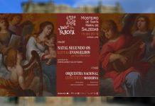 Concerto no Mosteiro de Santa Maria de Salzedas pela Orquestra Nacional Moderna
