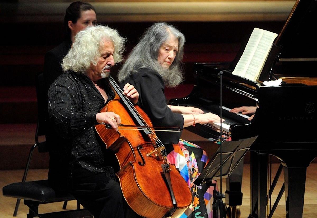 Martha Argerich e Mischa Maisky