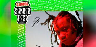 Trippie Redd a 4 de julho no Sumol Summer Fest