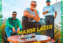 Major Lazer a 6 de agosto no MEO Sudoeste