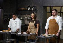 Pasteleiros em competição no TLC no programa 'Bake You Rich'