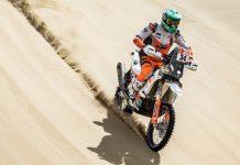 Mário Patrão melhora no segundo dia do Dakar 2019