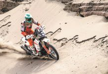 Mário Patrão sobe para a 20ª posição do Dakar 2019