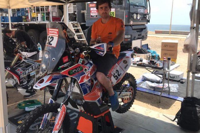 David Megre manteve boa navegação para um 43º lugar no Dakar
