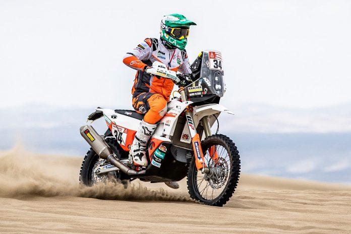 Mário Patrão cumpre com sucesso a quarta etapa do Dakar