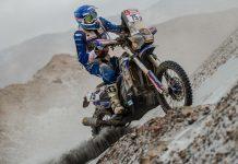 António Maio recupera duas posições na quarta etapa do Dakar