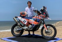David Megre mais perto de terminar o Dakar em Lima
