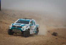 Paulo Ferreira mantém 2º lugar no Morocco Desert Challenge