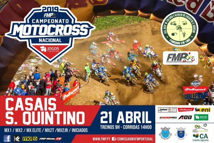 Motocross nacional em São Quintino
