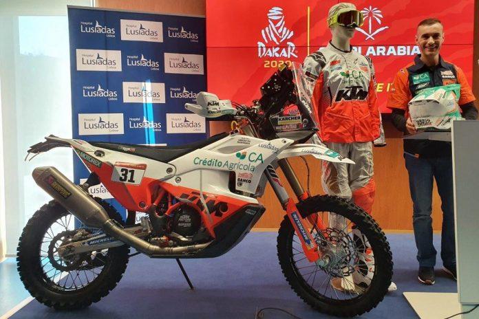 Mário Patrão regressa ao Rali Dakar em 2020 na Arábia Saudita