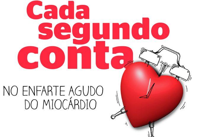"Cada Segundo Conta"" para evitar a morte por enfarte"