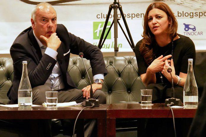 Marisa Matias em conversa no Clube dos Pensadores
